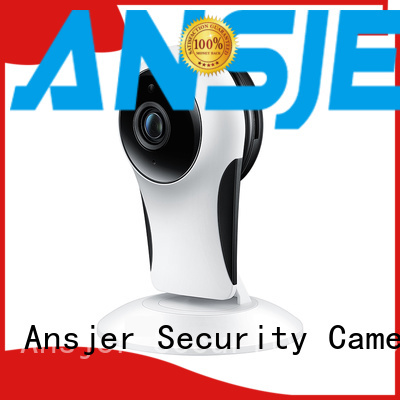 detection two way Ansjer Brand remote security camera factory