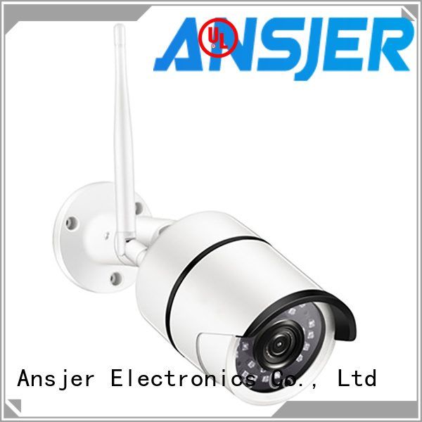 Ansjer cctv 360 degree best outdoor ip camera supplier for office