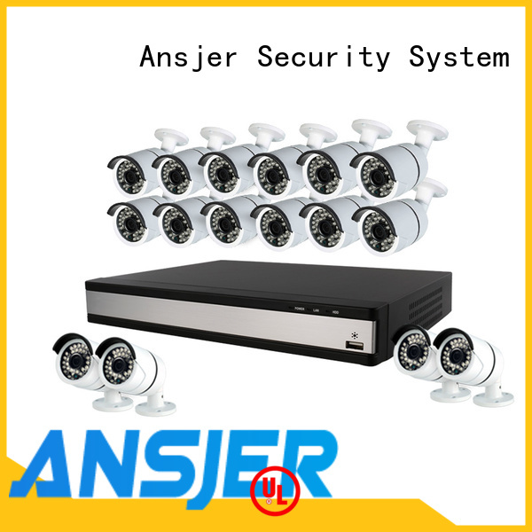 Ansjer cctv 1080p surveillance system wholesale for indoors or outdoors