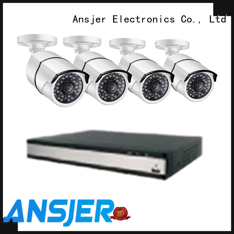 Ansjer cctv bullet poe cctv 1080p supplier for office