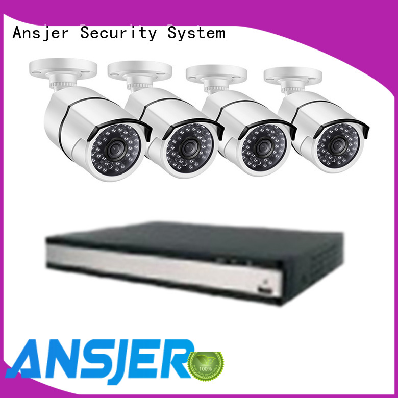 Ansjer cctv video 1080p poe camera manufacturer for surveillance