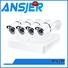 5mp bullet camera alert night 5mp surveillance system secure Ansjer Brand