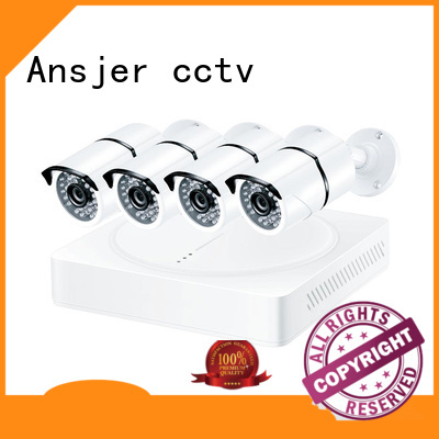 Ansjer cctv high quality 1080p cctv camera system wholesale for surveillance
