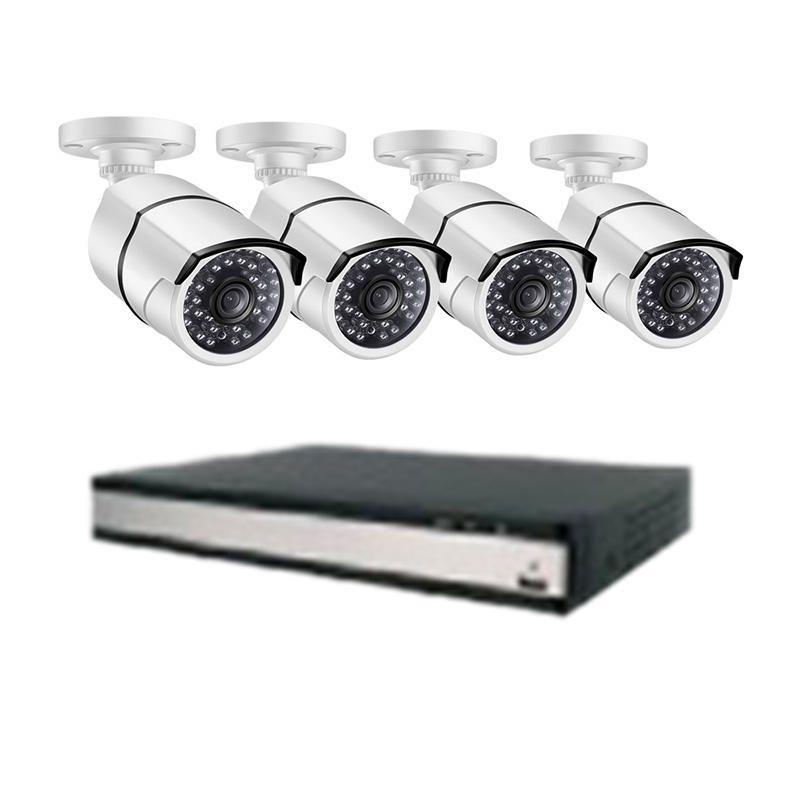 Ansjer-Ansjer 16CH 2K5MP Security Camera System with 5MP Night Vision Weather-proof IP66 Surveillanc