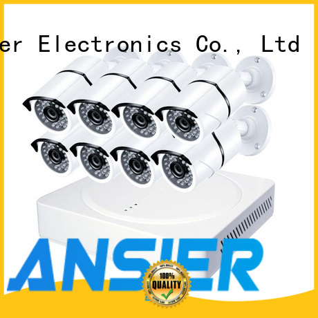 Ansjer cctv electric security camera system 5mp supplier for indoors or outdoors