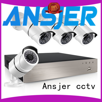 Ansjer cctv smartphone 1080p poe supplier for indoors or outdoors