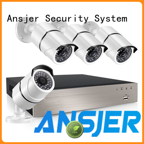 Ansjer cctv security poe nvr system manufacturer for office