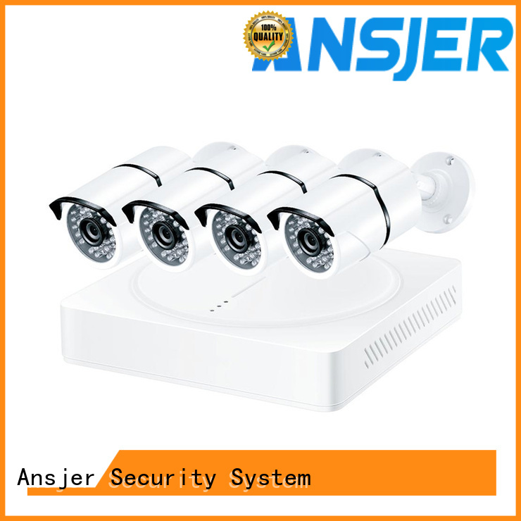 Ansjer cctv durable 4k camera system series for home