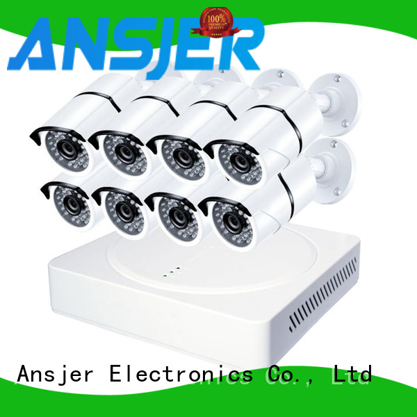 Ansjer cctv smartphone 5mp surveillance system series for office