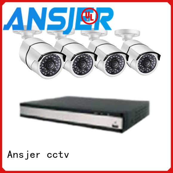 Ansjer cctv security 5mp surveillance system manufacturer for office