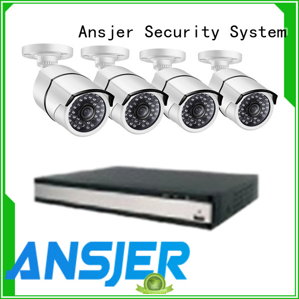 Ansjer cctv recorder 1080p poe camera wholesale for indoors or outdoors