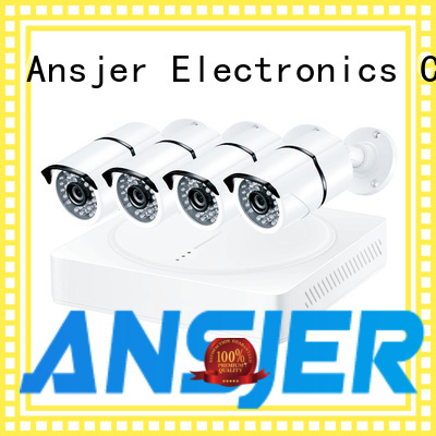 Ansjer cctv motion security camera system 5mp wholesale for surveillance