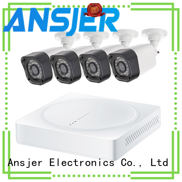 Ansjer cctv recorder best 720p security camera system with night vision for indoors or outdoors