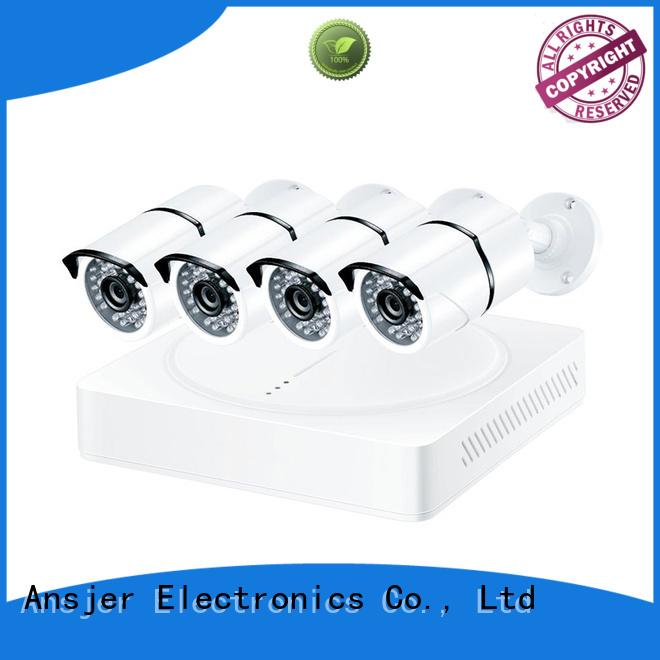 Ansjer cctv 4k security camera system home for home