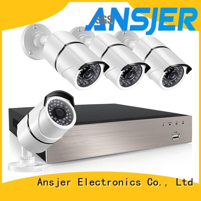 Ansjer cctv 1080p poe camera series for surveillance