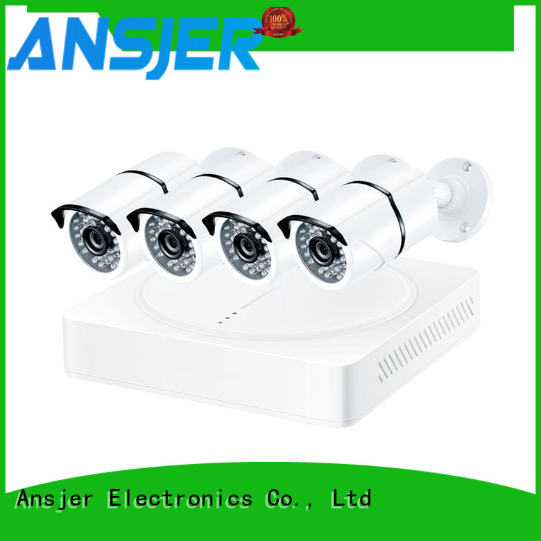 Ansjer cctv high quality 4k surveillance camera system manufacturer for office