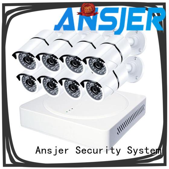 Ansjer cctv durable 1080p cctv camera system manufacturer for surveillance