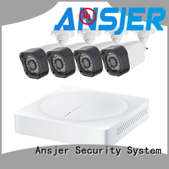 Ansjer cctv bullet best 720p security camera system with night vision for home