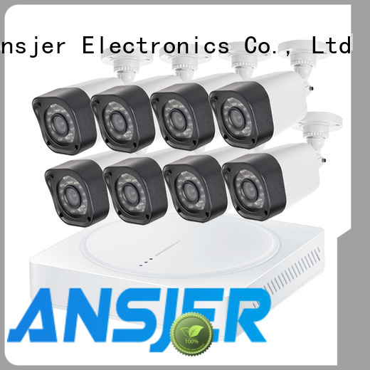 Ansjer cctv bullet best 720p security camera system manufacturer for indoors or outdoors