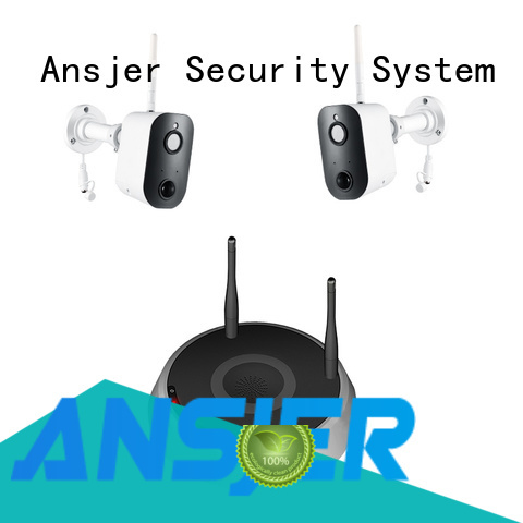 Ansjer cctv high quality smart home security system wholesale for office