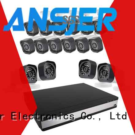 Ansjer cctv vision 720p surveillance camera system supplier for home