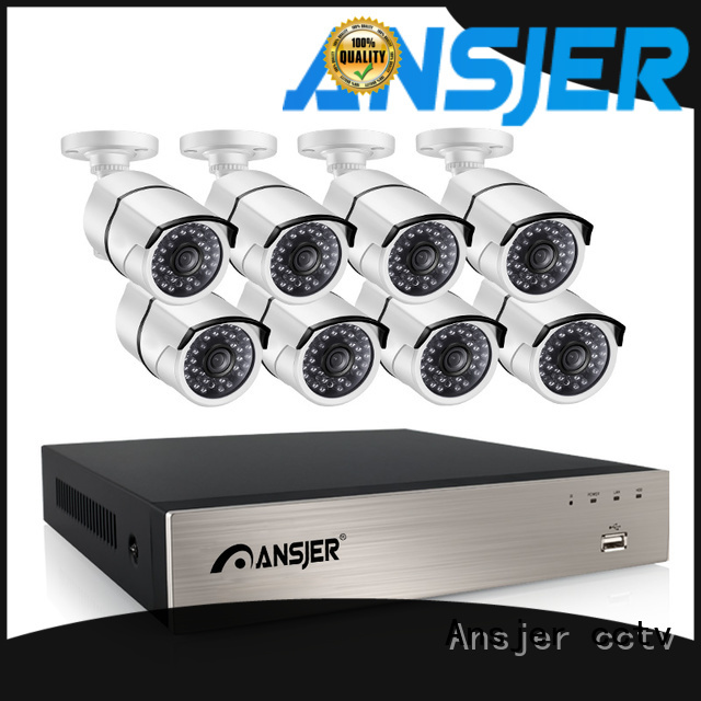 Ansjer cctv electric 5mp nvr series for office