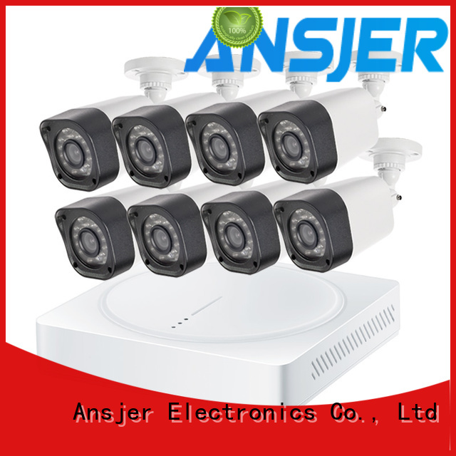 Ansjer cctv security 720p surveillance camera system wholesale for indoors or outdoors
