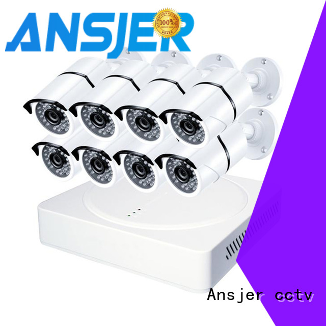 Ansjer cctv hd 1080p cctv system manufacturer for office