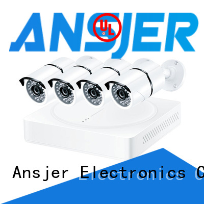 Ansjer cctv bullet 2k ip camera system supplier for indoors or outdoors