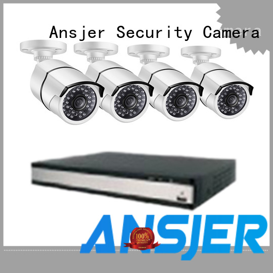 Quality Ansjer Brand wireless two way audio security products