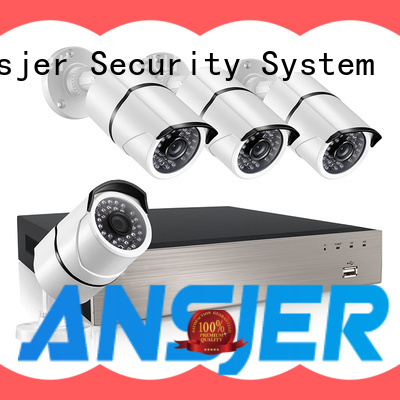 Ansjer cctv 5mp poe ip camera manufacturer for office