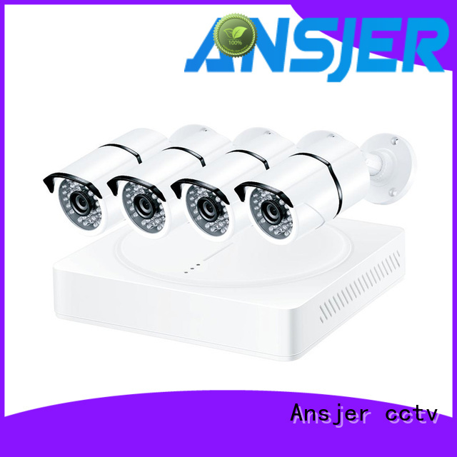 Ansjer cctv internet 4k ip camera system manufacturer for surveillance
