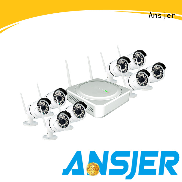 outdoor ip camera ansjer OEM 1080p hd wireless security camera system Ansjer