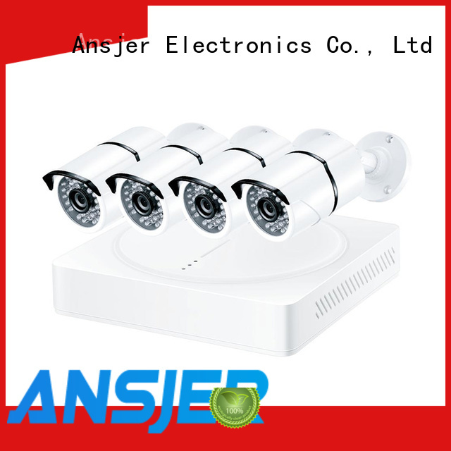 Ansjer cctv high quality 4k camera system series for surveillance
