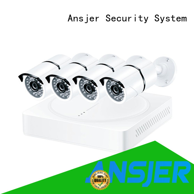 Ansjer cctv 1080p surveillance system wholesale for home