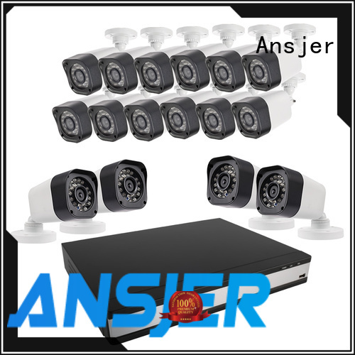 720p bullet camera motion indoor weatherproof Ansjer Brand 720p hd security camera system