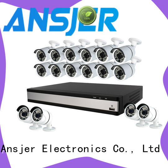 Ansjer cctv durable 1080p cctv camera system manufacturer for home