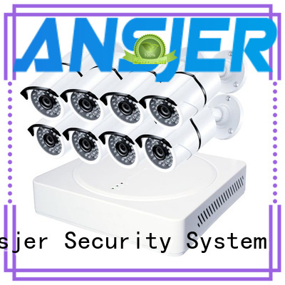 Ansjer cctv surveillance 2k ip security camera system wholesale for surveillance