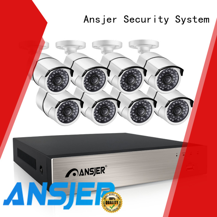 Ansjer cctv electric 1080p poe nvr supplier for indoors or outdoors