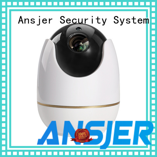 Ansjer C512 1080P HD Smart Wireless Security Baby Monitor Pan Tilt IP Camera, Two-Way Audio, Motion Detection Alerts, Night Vision