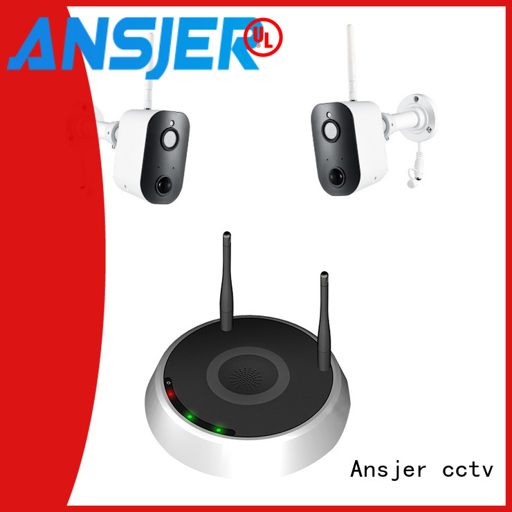 Ansjer cctv high quality smart home monitoring system manufacturer for office