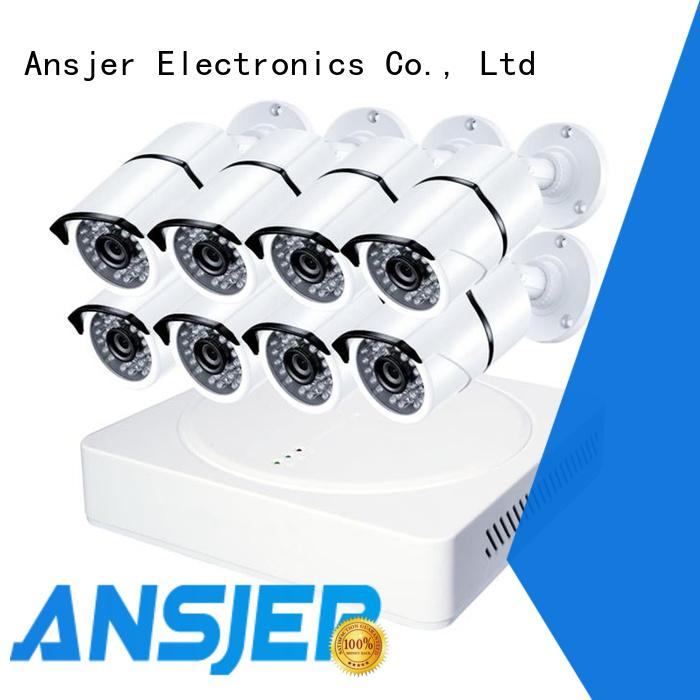 Ansjer cctv alert 2k ip security camera system supplier for office