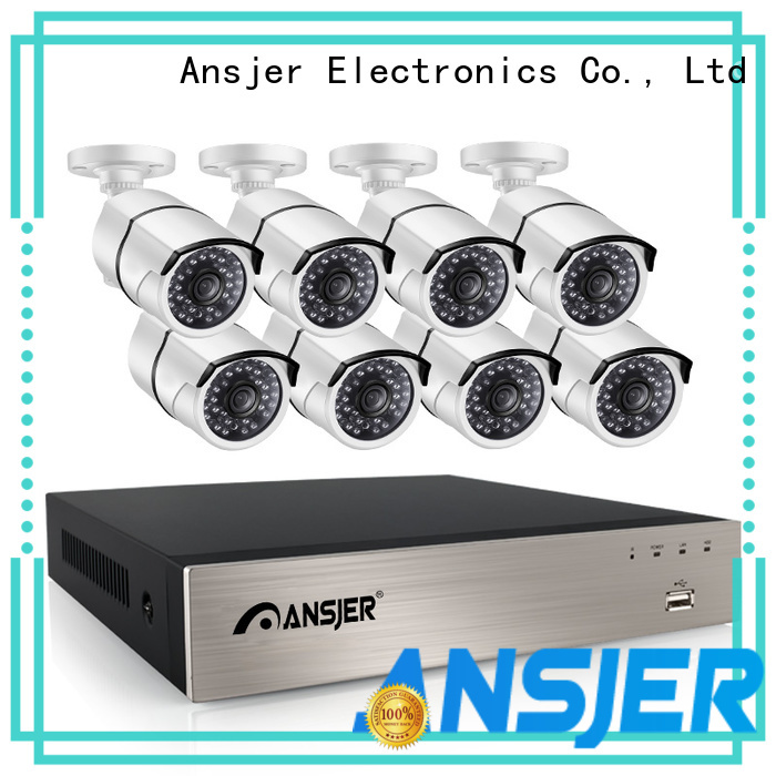 Ansjer cctv electric 1080p nvr wholesale for office