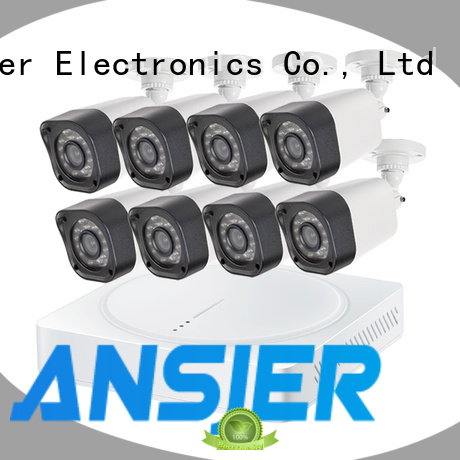 Ansjer cctv home 720p camera system manufacturer for indoors or outdoors