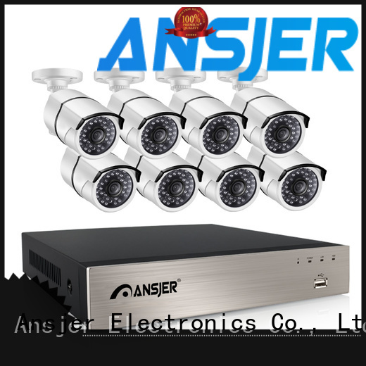 Ansjer cctv nvr poe nvr system wholesale for office