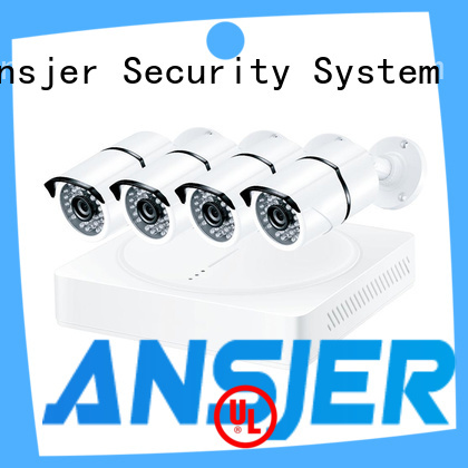 Ansjer cctv cameras 1080p cctv system manufacturer for home