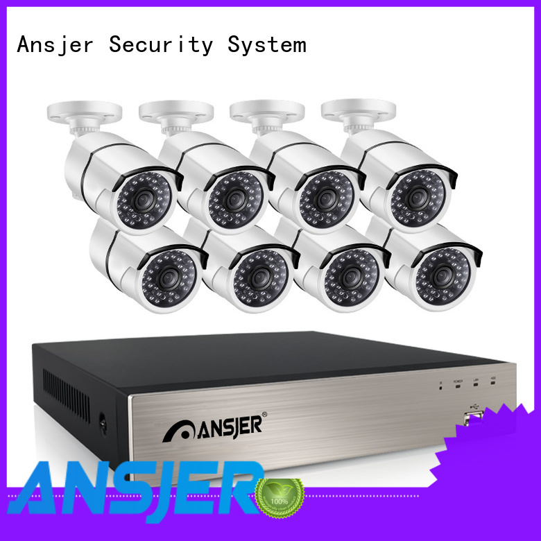 Ansjer cctv ip camera 5mp poe wholesale for surveillance