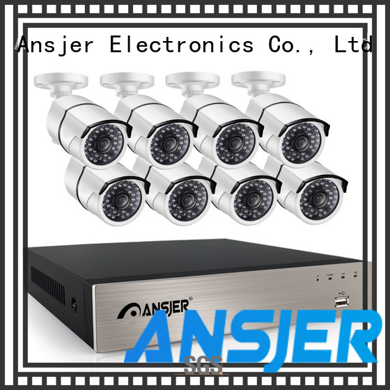 Ansjer cctv cameras ip camera 5mp poe manufacturer for surveillance