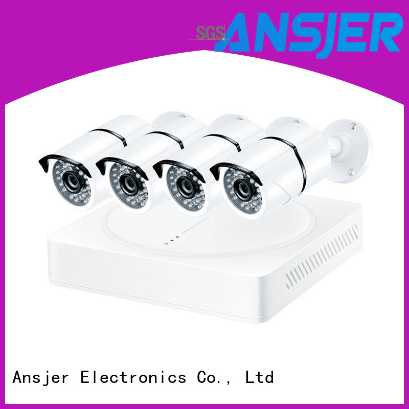 Ansjer cctv durable security camera system 5mp series for indoors or outdoors