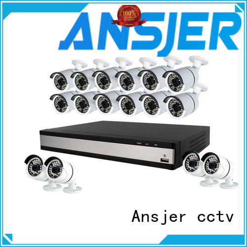 Ansjer cctv 1080p cctv system supplier for indoors or outdoors